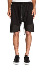 Roaming Jogger Shorts in Black