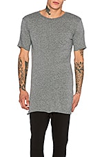 Knomad Loose Tee in Heather Grey