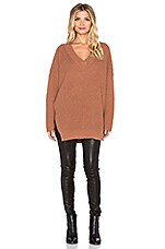 Knot Sisters Seattle Sweater in Cow Hide