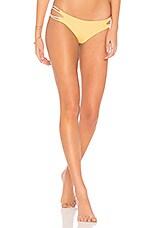 KYA Night Sky Reversible Bikini Bottom in Sunset & Shell