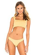 KYA Chloe Reversible Bikini Top in Sunset & Shell