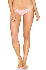 KAOHS Annie Bikini Bottom in Blush & Peach