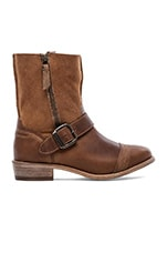 Duarte Boot with Fur in Chestnut