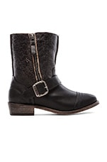 Duarte Boot with Fur in Black