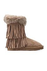 Haley II Boots with Twinface Sheepskin in Seta