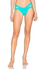 KOPPER & ZINK Mia Bikini Bottom in Turquoise