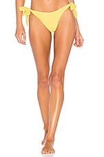 KOPPER & ZINK Tallie Bikini Bottom in Lemon