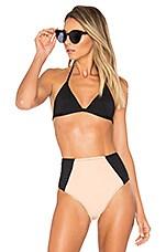 Maia Bikini Top in Onyx