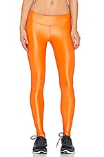 Lustrous Legging en Tangelo Orange