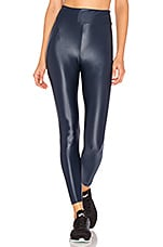 KORAL Lustrous High Rise Legging in Midnight Blue