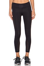 Autobahn Visage Crop Legging in Black