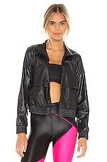 KORAL Rain Zephyr Jacket in Black