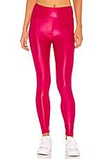 KORAL Lustrous High Rise Legging in Infrared