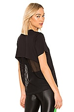 KORAL Arabela Brisa T Shirt in Black