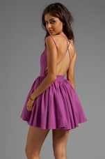 keepsake Perfect Stranger Dress in Boysenberry