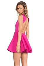 Above the Water Dress in Fuchsia