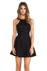 Take It All Mini Dress in Black Lace