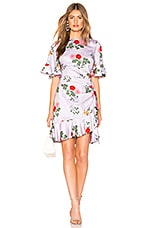 keepsake Pretty One Mini Dress in Lilac Floral