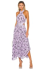 keepsake Luscious Dress in Lilac Floral