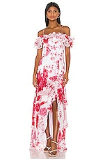 keepsake Enchanted Gown in Ivory Rose Floral