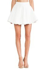 All Through the Night Skirt in Ivory