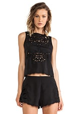 Begin Again Top in Black