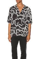 Ksubi Heavy Metal Resort Shirt in Black