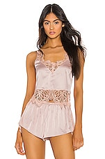 KAT THE LABEL Melody Cami in Rose