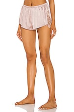 KAT THE LABEL Melody Short in Rose