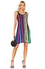Kenzo Vertical Ribs Dress in Multi Color