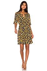 Kenzo Ditzy Peonie Dress in Marigold