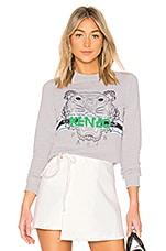 Kenzo Sport Tiger Sweatshirt in Grey