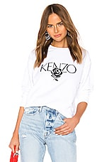 Kenzo Light Comfort Sweatshirt in White