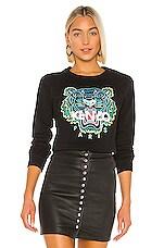 Kenzo Classic Tiger Co Molleton Sweatshirt in Black