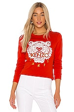Kenzo Classic Tiger Sweatshirt in Red