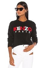 Kenzo Paris Sweatshirt in Black