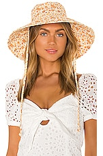 Lack of Color Holiday Bucket Hat in Peach