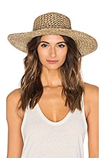 Lack of Color The SunnyDip Wide Brimmed Hat in Seagrass