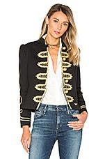 Condesa Barbanegra Jacket in Black & Gold