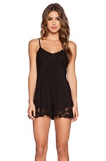 COMBISHORT DENTELLE LOVE PLAYSUIT