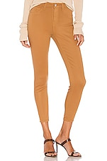 L'AGENCE X REVOLVE Margot High Rise Skinny in Cafe Coated