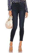 L'AGENCE Margot High Rise Skinny in Marino Blue