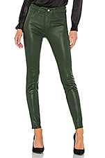 L'AGENCE Marguerite High Rise Skinny in Moss Coated