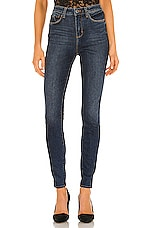 L'AGENCE Marguerite High Rise Skinny in Fleetwood