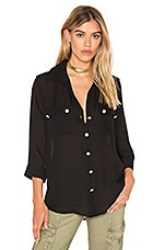 Pauline Button Up in Black