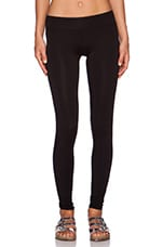 Lounge Skinny Legging in Black