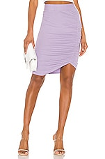 LA Made Ariel Skirt in Heirloom Lilac