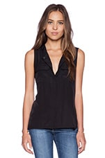 Cargo Blouse in Black
