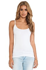 Deep Scoop Tank in White