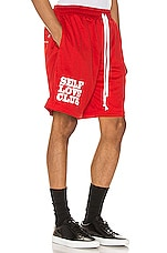 Lifted Anchors SLC Basketball Shorts in Red